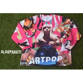 Sudadera Full Print Personalizada Lady Gaga Artpop