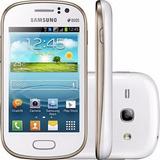 Smartphone Samsung Galaxy Fame Duos Branco Vitrine
