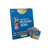 Álbum Da Copa Do Mundo Rússia 2018 Capa Mole + 4 Envelopes