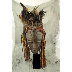 Mascara Africana Costa Do Marfim Madeira Bété
