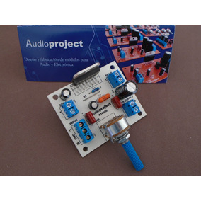 Mini Amplificador Estereo 38+38 W C/volumen- Audioproject