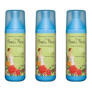 Alma De Flores Clássico Desodorante Spray 90ml (kit C/03)
