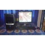 Computadora Completa Admiral! Monitor Lcd! Windows 7!