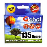 Cartucho Alternativo 135 Negro Para Epson T25 Tx125 Tx135