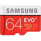 Cartão Samsung Micro Sdxc 64gb 80mb/s Sd Xperia Mini Galaxy