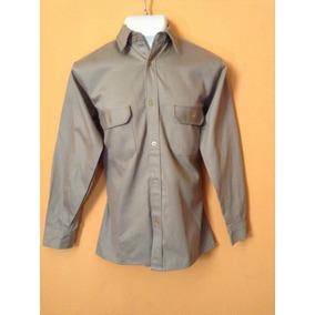 Camisa De Mezclilla 100% Algodon