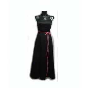 Lilasori Vestido De Fiesta Importado Color Negro Talla 7
