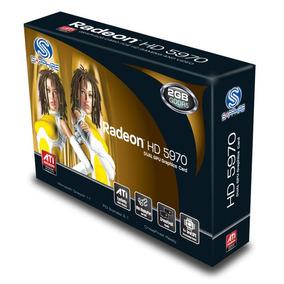 Placa De Video Ati Radeon Hd 5970 2gb Ddr5, Directx 11, Sapp