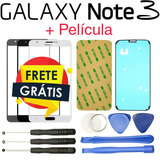 Vidro Tela Original Galaxy Note 3 Visor Lente S Touch Screen