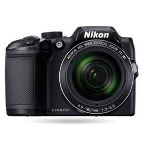 Câmera Nikon Coolpix B500 +bolsa+8gb+minitripé Novo C/ Nf