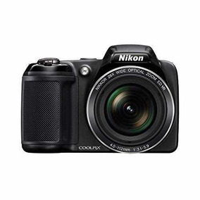 Câmera Digital Nikon Coolpix L340 20.2mp Com Zoom Ótico 28x