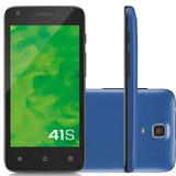Smartphone Celular 41s Azul 3g Dual Câmera P9027 - Mirage