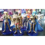 Figuras Muñecos X 5 Caballeros Del Zodiaco Seiya Aioros Ikki