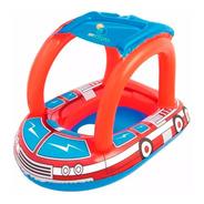 Flotador Infantil Bote Bombero 1 A 3 Años Bestway 34093