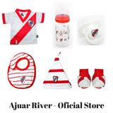 River Plate Ajuar Oficial Para Bebes ( Millonario )