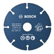 Disco De Serra Mármore 110x20mm Para Madeira  Bosch