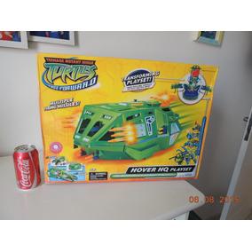 Carro Tartarugas Ninjas Hover E Base Playmates Coleção Novo