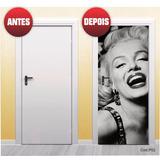 Adesivo Porta Ator Filme Cinema Marilyn Monroe | Cod.p52