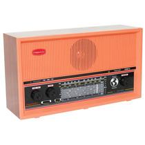 Rádio Mesa Imperador 9 Faixas Fm/om + 7 Oc Salmão Vintage