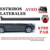 Estribos Laterales Chevrolet Aveo Tuning Deportivo