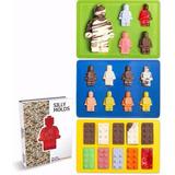 Set De Moldes Legos Para Repostería Y Jabones.