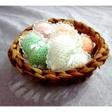 Souvenirs Corazones Crochet. Boda, Nacimiento, Cumpleaños