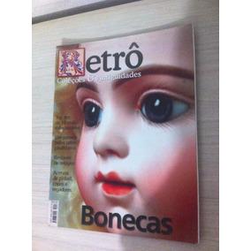 Lote 3 Revistas Retro Antiguidades Bonecas Conchas E Santos