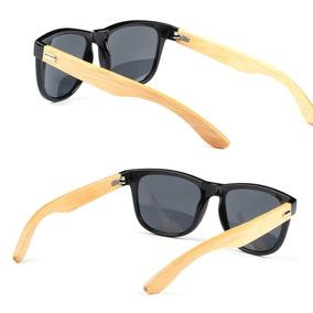 Óculos Rayban Bamboo Marrom - Novo - Lentes Polarizadas