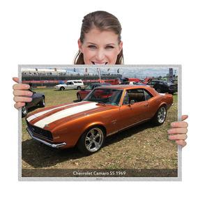 Quadro Muscle Cars Chevrolet Camaro Ss 1969 (tam. A2)