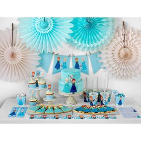 Kit Imprimible Frozen Mesa De Dulce Decoracion Fiesta Frozen