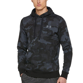 Buzo Under Armour Rival Fitted Printed Hoodie Hombre