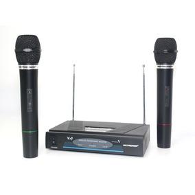 Microfono Inalambrico 30 Mts Original Premier, Planta Power
