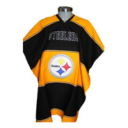 Jorongo Steelers Nfl Mexicano Artesanal Bordado