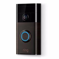 Ring -timbre Inteligente Para Su Puerta Wifi Video Bronce