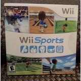 Juego Original De Nintendo Wii Sports Nuevo