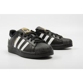 adidas Superstar Original Cuero Negro !! Vte Lopez