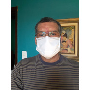 Máscara Kit Com 6 Peças, Tecido 100% Algodão Exxe Wear
