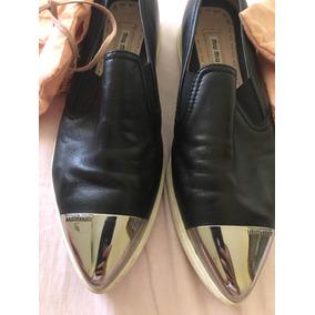 6aeaee46efdf2 Sapatos Sociais e Mocassins Cor Principal Preto para Feminino, Usado ...
