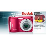 Camara Digital Kodak C195 Color Roja