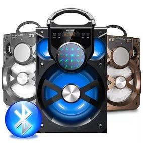 Caixa De Som Portátil Amplificada Usb Mp3 Radio E13 Potente