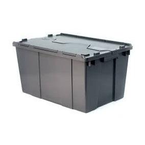 Caja Con Tapa De Bisagra 50-21 Plastica