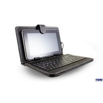 4 Fundas Con Teclado Para Tablet 7 -8 Acteck Ft-900