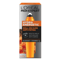 Roll On Antifatiga Crema Ojos Men Expert Loreal, 10 Ml