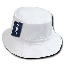 El Sombrero Del Pescador Decky, Blanco, Pequeño / Medio