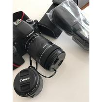 Camara Canon Eos 60d Incluye Lente 18-135 Y 50mm Y Speedlite