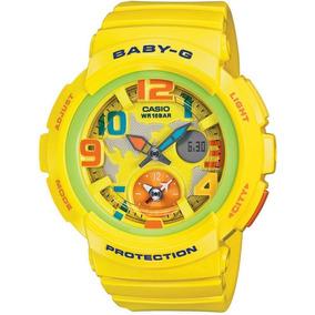 09554c2d262 Relógio Casio Baby-g Amarelo Lady - Relógios De Pulso no Mercado ...