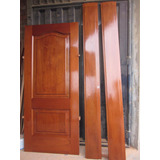 Puertas De Madera (cedro, Caoba, Pumaquiro, Tornillo, Otros)
