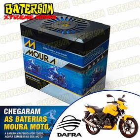 Bateria Moura Moto 6ah Dafra Apache 150cc