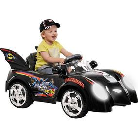 Mini Carro Elétrico Batman Com Controle Remoto P/ Os Pais