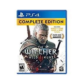 The Witcher 3 Wild Hunt Ps4 Fisico Sellado Original !!!